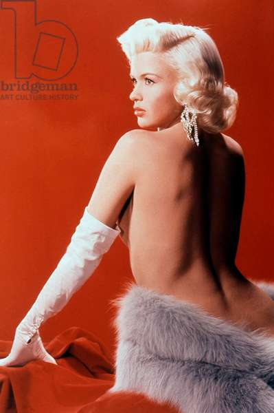 The American Actress Jayne Mansfield (1933-1967) about 1953