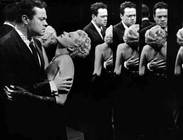 La Dame de Shanghai The Lady from Shanghai de OrsonWelles avec Orson Welles et Rita Hayworth 1948