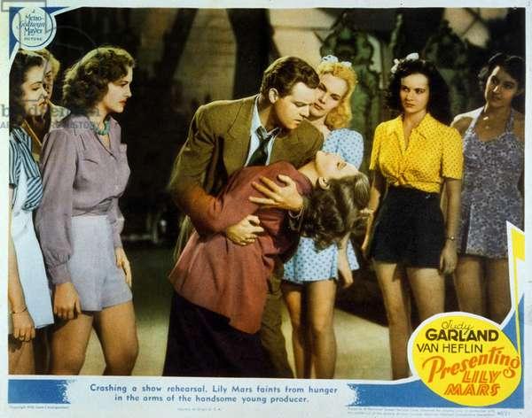 Lily Mars vedette Presenting Lily Mars de NormanTaurog avec Judy Garland et Van Heflin 1943