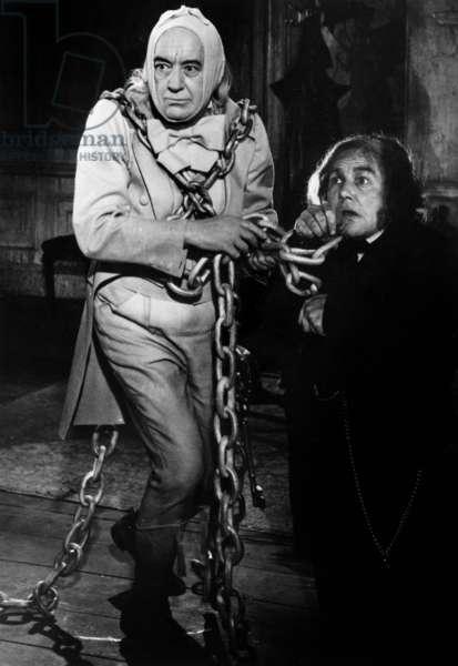 Scrooge de Ronald Neame avec Alec Guiness Guinness et Albert Finney 1970