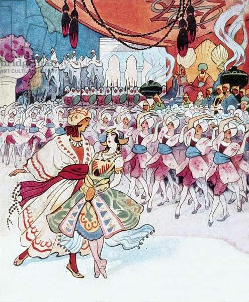 Program for the Theatre du Chatelet, Paris, 1927 : The Ballets Russes