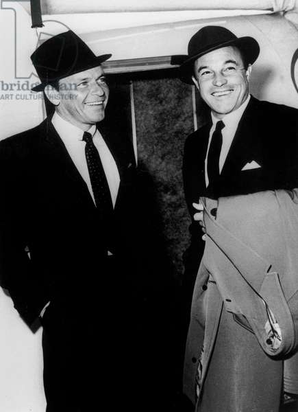 Frank Sinatra and Gene Kelly in 1962