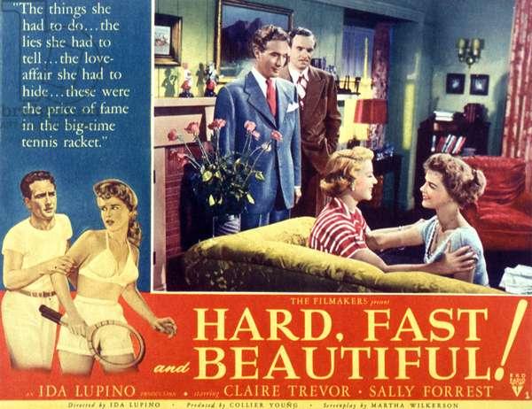 Jeu, set et match hard, fast and beautiful de Ida Lupino avec ClaireTrevor et Sally Forrest 1951