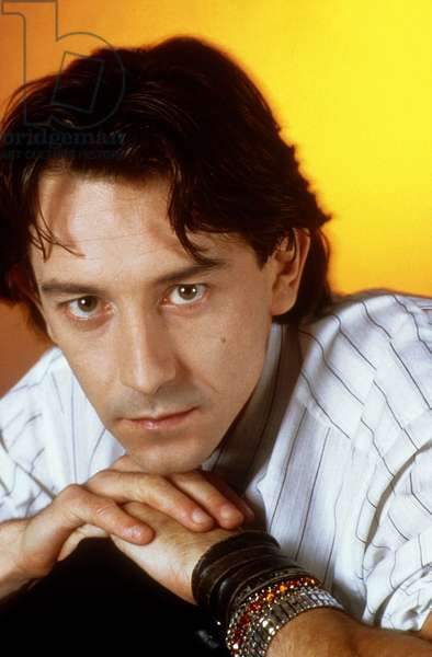 Jean Hugues Anglade, French Actor, scriptwriter and film director born in 1955.