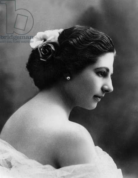 Margaretha Geertruida Zelle called Mata Hari (1876-1917) dutch dancer and spy for the Germany, c.1904