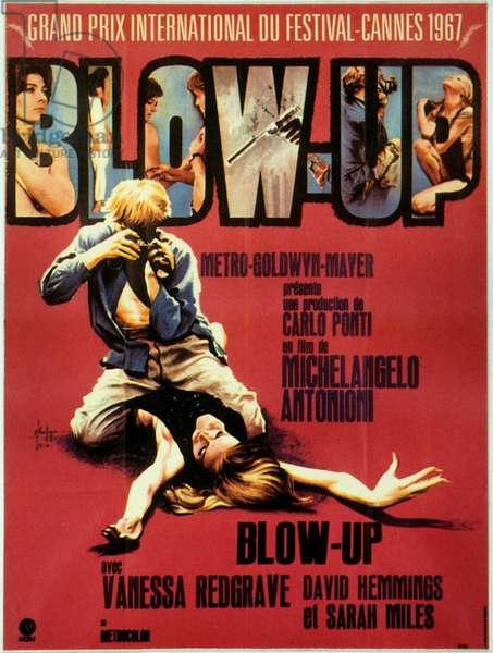 Blow Up Blow-Up de MichelangeloAntonioni avec David Hemmings et Sarah Miles 1966 (Palmed'or1967)