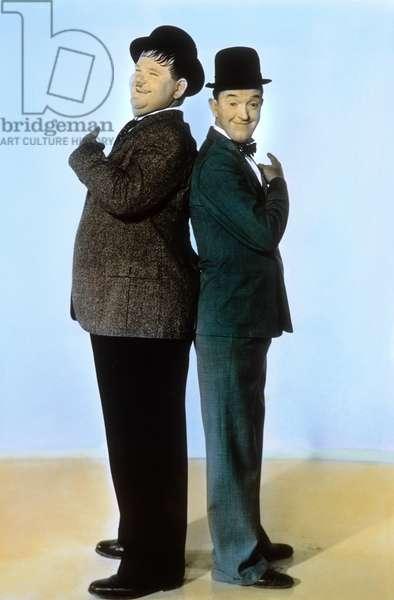 Oliver Hardy et Stan Laurel en 1940