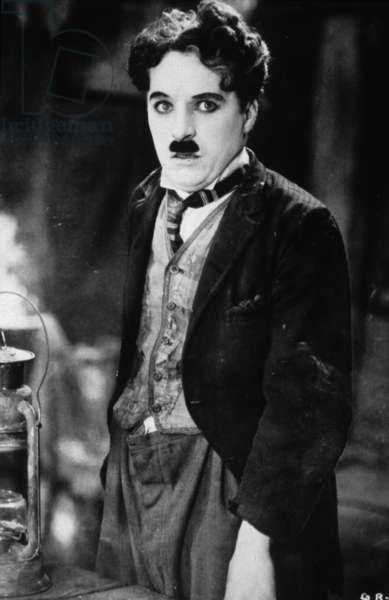 La Ruee vers l'Or The Gold Rush de Charles Chaplin avec Charles Chaplin, 1925 Silent movie