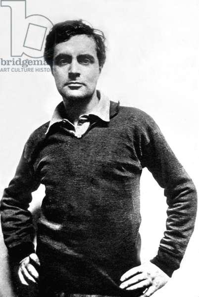 Amedeo Modigliani (1884-1920) Italian painter and sculptor c. 1919