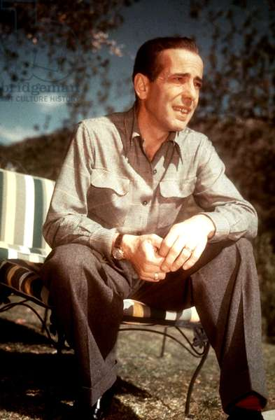 American Actor Humphrey Bogart (1899-1957) c. 1941