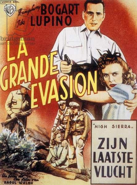 La grande evasion HIGH SIERRA de RaoulWalsh avec Ida Lupino et Humphrey Bogart, 1941