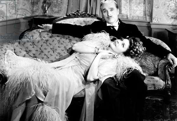 Monsieur Verdoux de CharlesChaplin avec Charlie Chaplin et Martha Raye 1947