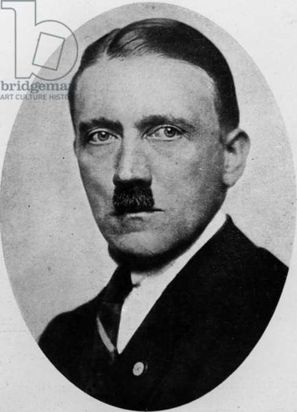 Adolf Hitler (1889-1945) future German chancellor, 1923
