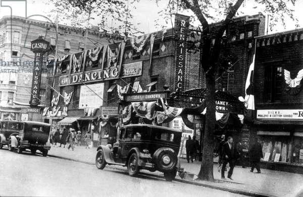 Renaissance casino in Harlem, New York, 1927