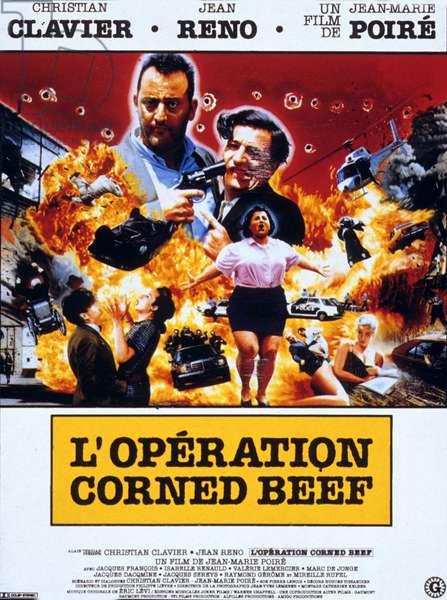 L'operation Corned beef de JeanMariePoire avec Christian Clavier et Jean Reno 1991