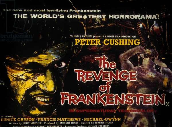 La revanche de frankenstein The Revenge of Frankenstein de Terence Fisher avec Peter Cushing et Francis Matthews 1958
