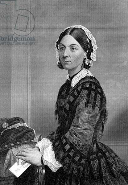 Florence Nightingale (1820-1910) English nurse, hospital reformer philanthropist and founder of the modern nursing profession :