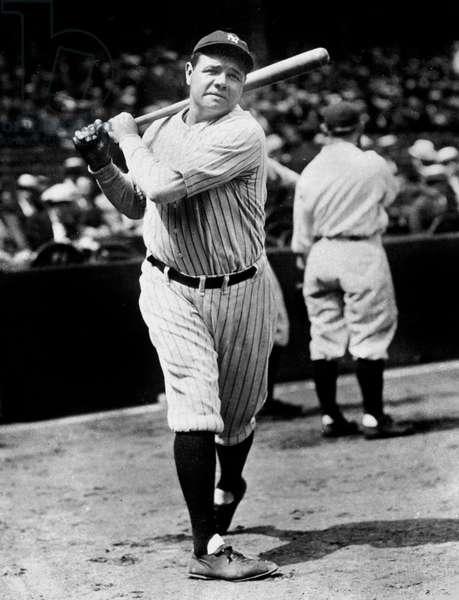 George Herman Ruth said Babe Ruth (1895-1948) American baseball player c. 1925
