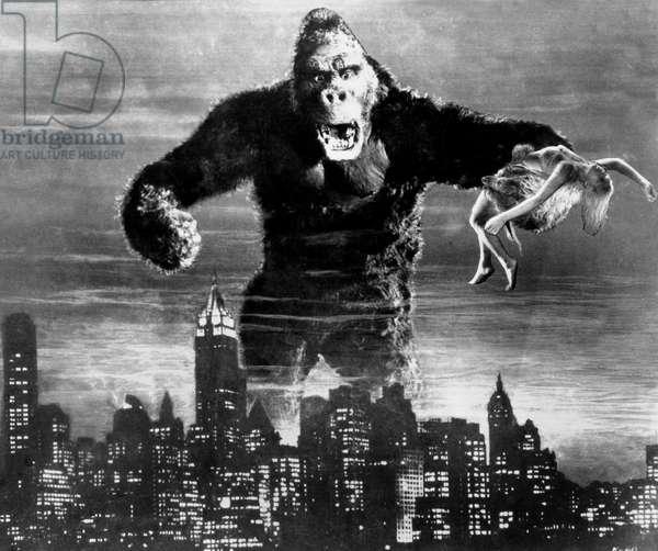 King-Kong de Merian C Cooper et Ernest B Schoedsack avec Fay Wray 1933