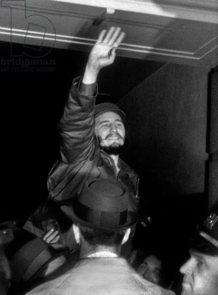 Fidel Castro in New York April 1959