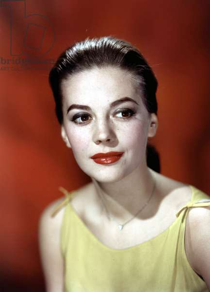 The American Actress Natalie Wood (1938-1981) c. 1955