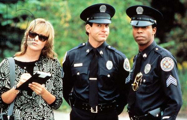 Police Academy 4: Aux armes Citoyens POLICE ACADEMY IV: CITIZENS ON PATROL de Jim Drake avec Sharon Stone et Steve Guttenberg, 1987