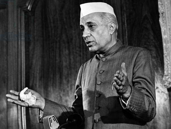 Jawaharlal Nehru, Indian Prime Minister Nehru wants to present his resignation April 30, 1958