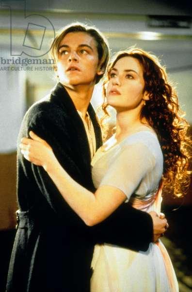 Titanic de James Cameron avec Leonardo Di Caprio, Kate Winslet, 1997