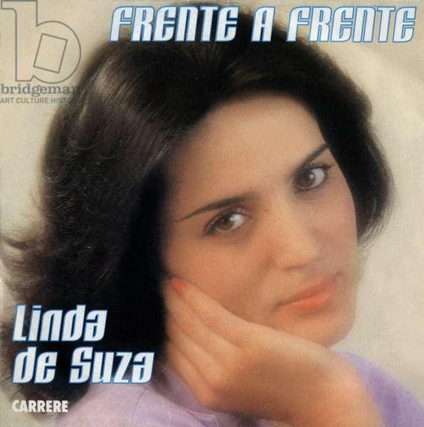 """Linda de Suza 1981 """"Frente a Frente"""" (""""face a face"""")"""