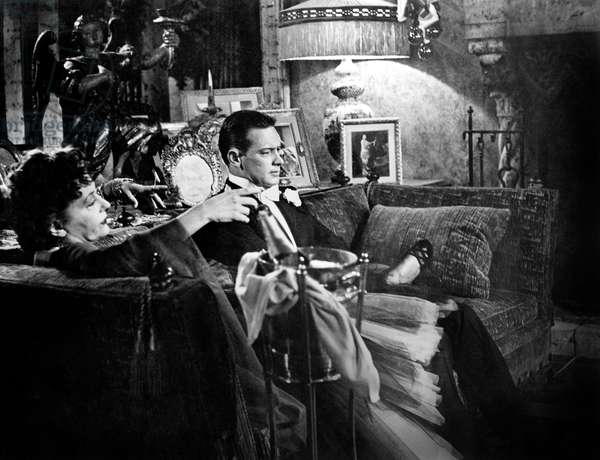 Boulevard du Crepuscule Sunset Boulevard de BillyWilder avec Gloria Swanson et William Holden 1950