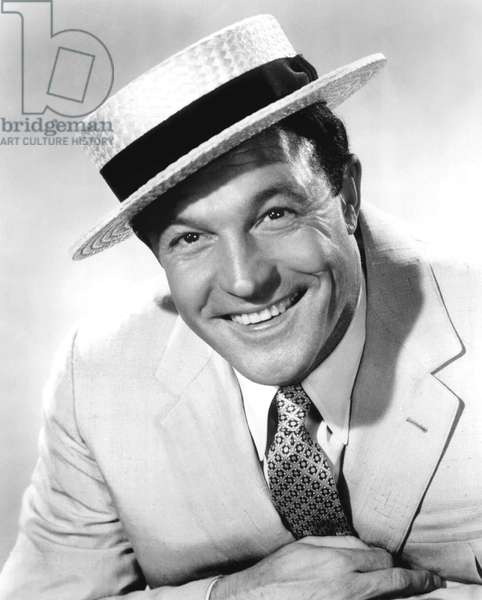 Gene Kelly, born Eugene Curran Kelly (1912-1996), American Actor, Singer, director and dancer. c. 1960.
