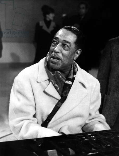 Duke Ellington (1899-1974) American jazz composer and pianist c. 1965