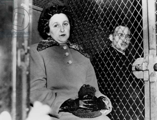 Ethel and Julius Rosenberg in March 1951 (communist, condemned for spying and executed in 1953)