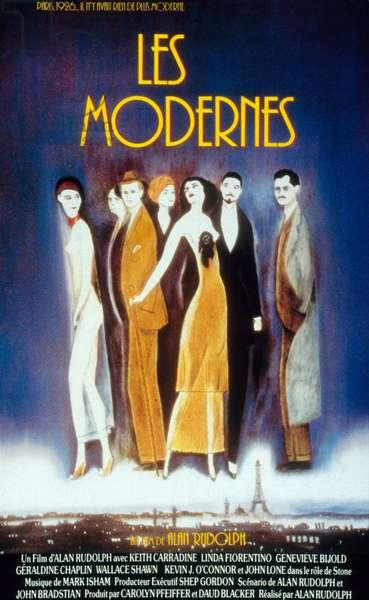 Les Modernes The Moderns de Alan Rudolph avec Genevieve Bujold et John Lone 1988