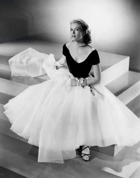 Grace Kelly, publicity shot for 'Rear Window', 1954 (b/w photo)