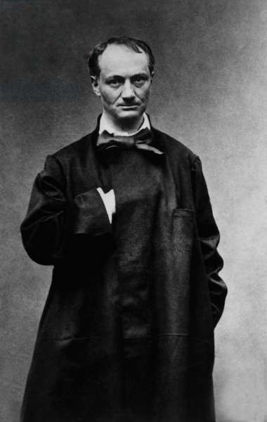 Charles Baudelaire (1821 - 1867) French poet