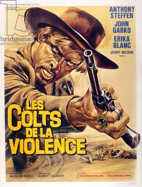 Les colts de la violence de AlbertoCardone avec Anthony Steffen 1967
