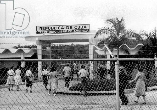 American base at Guantanamo Cuba November14, 1962 during cuban missile crisis