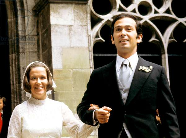 Wedding of Princess Christina of Holland and her fiance Jorge Guillermo June 28, 1975