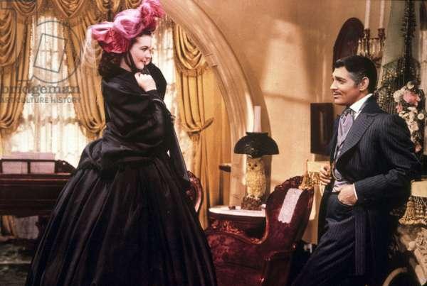 VictorFleming avec Vivien Leigh et Clark Gable en 1939