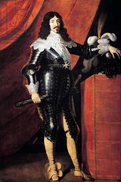 Louis XIII (1601-1643) King of France, 1610-1643