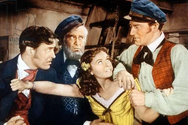 Les Naufrageurs des mers du Sud de Cecil B. DeMille avec avec Ray Milland, Paulette Goddard et John Wayne, 1942