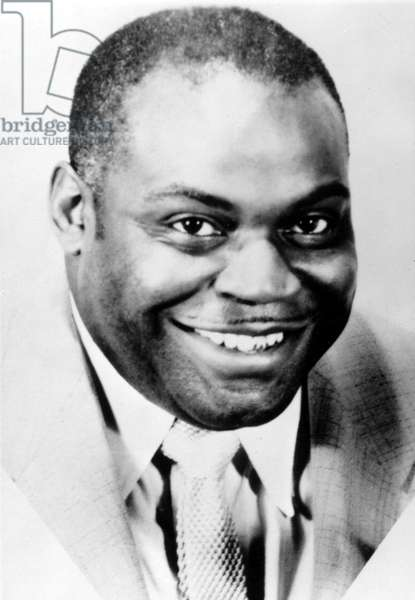 Willie Dixon (1915-1992) American bluesman c. 1950