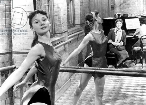 The Secret People de ThoroldDickinson avec Audrey Hepburn, 1952