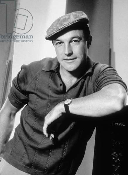 Gene Kelly, born Eugene Curran Kelly (1912-1996), American Actor, Singer, director and dancer. c. 1955