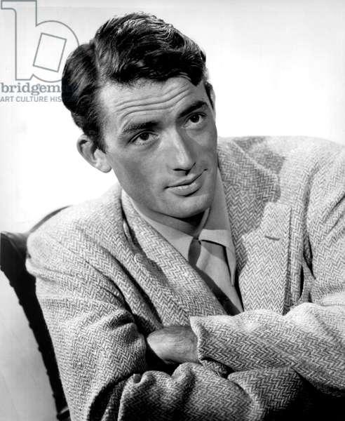 American Actor Gregory Peck (1916-2003) c. 1945
