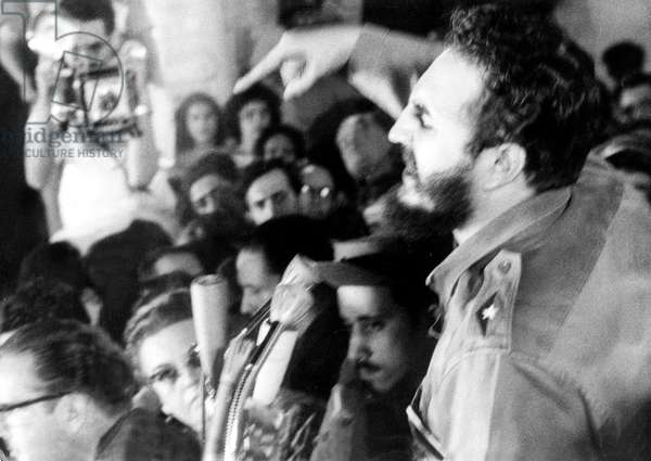 Speech of Fidel Castro in La Havana, Cuba during which he explains the agreements made with NikitaKhroushtchev and USSR October, 30 1962 (at time of cuban missile crisis)