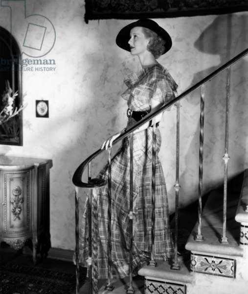 American Actress Bette Davis (1908-1989) c. 1935