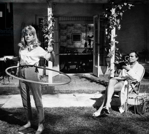 Lolita directed by Stanley Kubrick with Sue Lyon and James Mason, 1962 (b/w/photo)