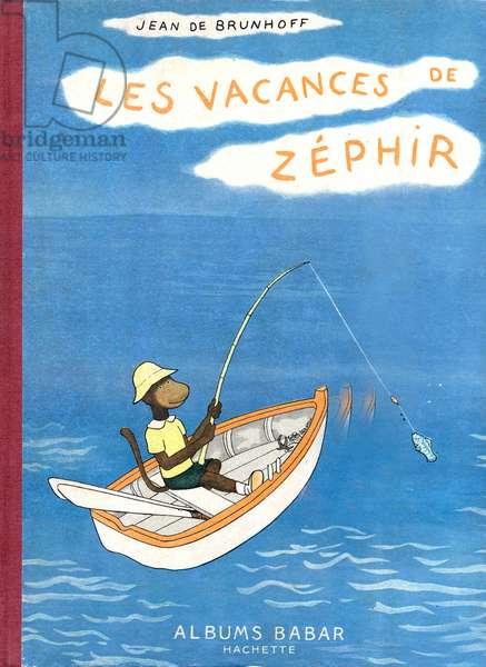 Cover of book Les vacances de Zephir by Jean De Brunhoff , 1936